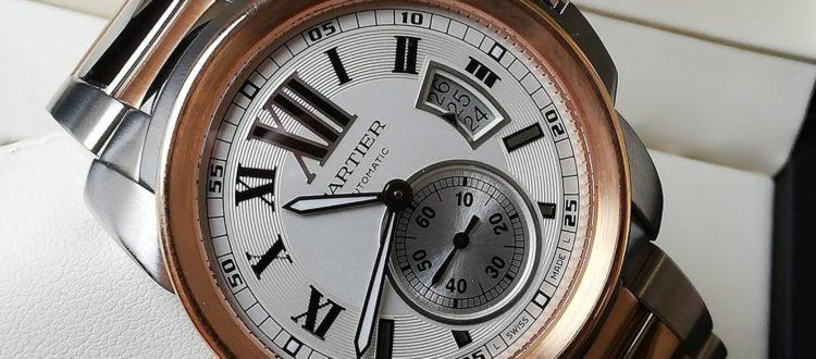 drahé hodinky Cartier na prodej