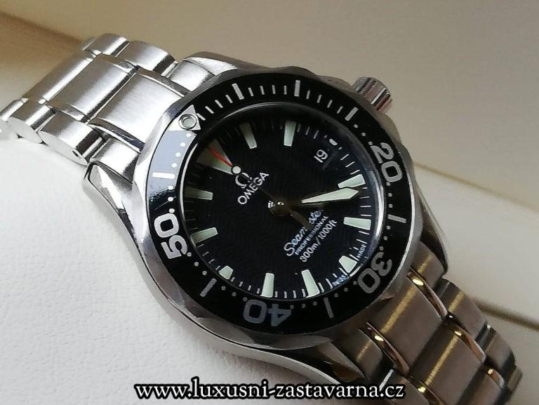 1 Omega Seamaster Diver 300M Black Dial 28mm Steel