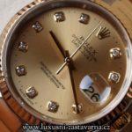 fotografie pravých hodinek, model Oyster Perpetual Datejust Automatic