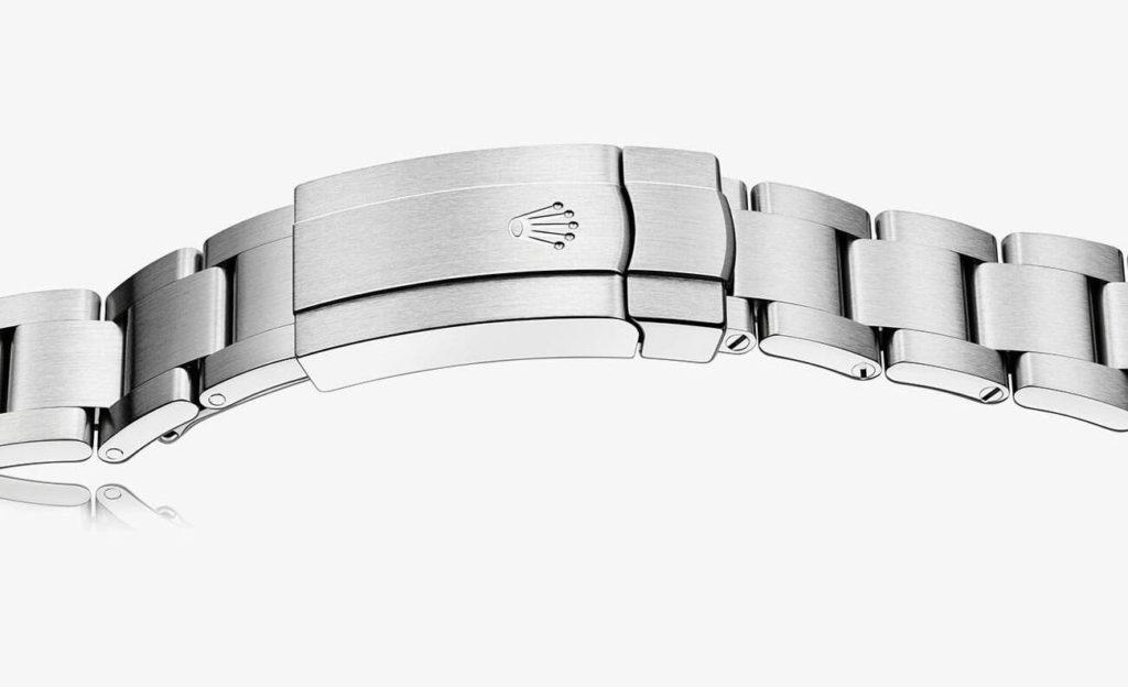 tah typu Oyster na hodinkách Rolex
