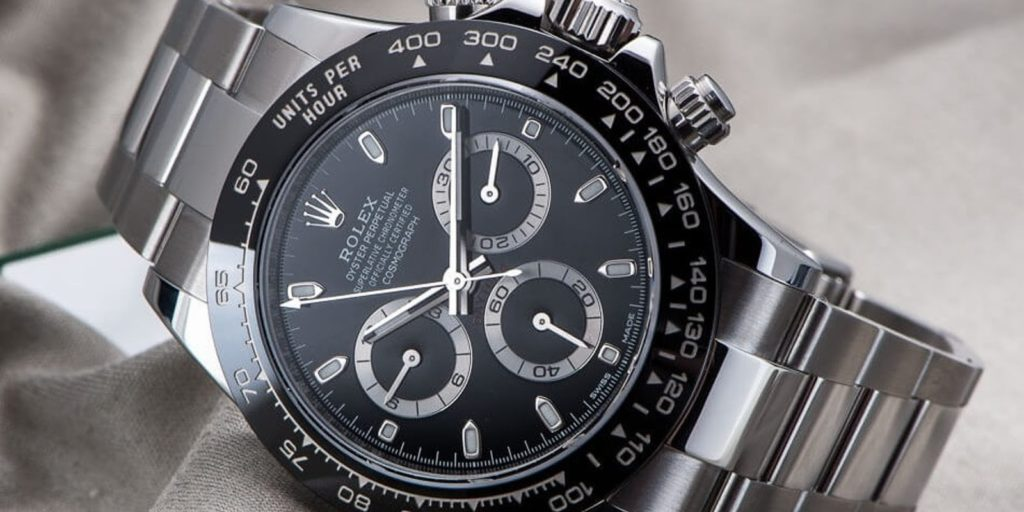chronograf Daytona, představující etalon mezi luxusními hodinkami