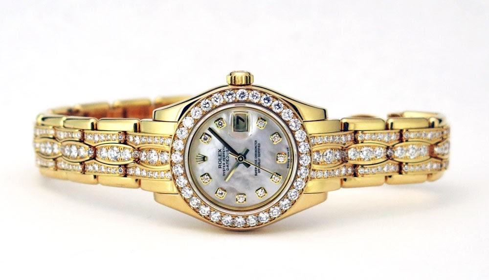 hodinkový tah Rolex Pearlmaster