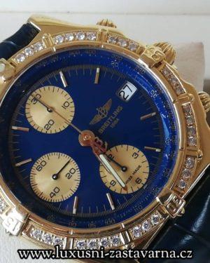 1 Breitling Chronomat 18K Yellow Gold 39mm