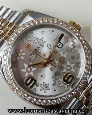1 Rolex Datejust 36mm 18K Gold Diamonds