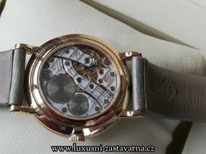průhledové sklíčko hodinek Patek Philippe