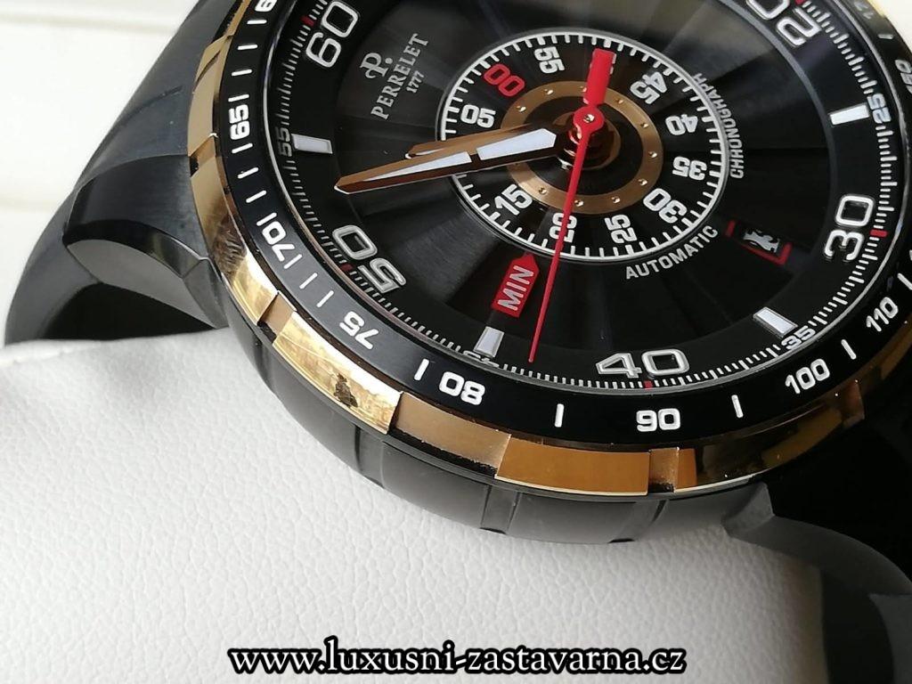 drahé švýcarské hodinky v zastavárně