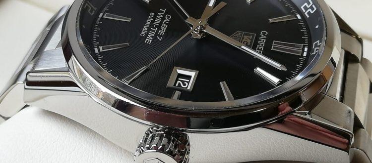 luxusní použité hodinky, prodané do luxusní zastavárny