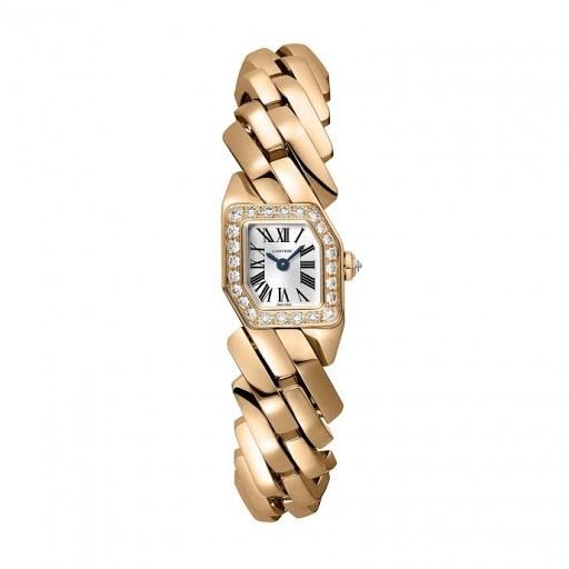 zlaté hodinky Cartier si drží vysokou cenu při prodeji