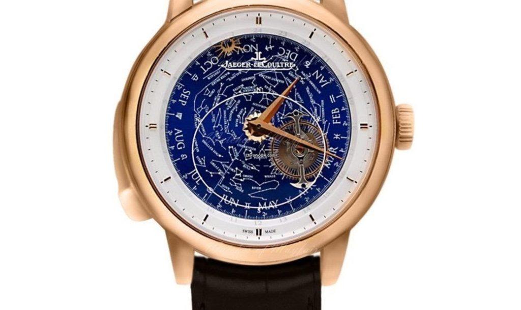 luxusní hodinky Jaeger-Lecoultre na prodej mají stále velmi vysokou cenu