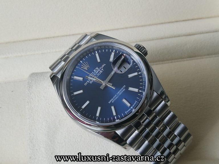 Rolex Datejust Blue Dial 36mm